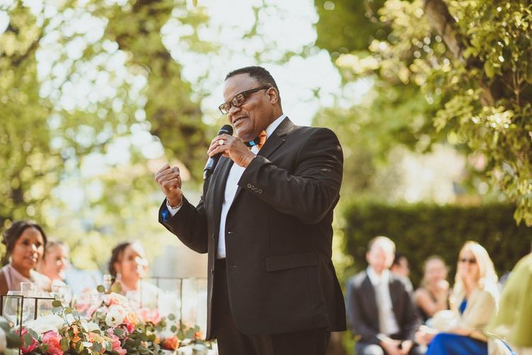 Father of the bride wedding speech at Lake Como wedding
