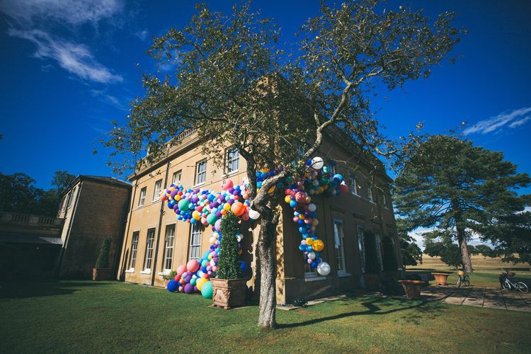 Balloon Installation // Wedding Production By Marble Private