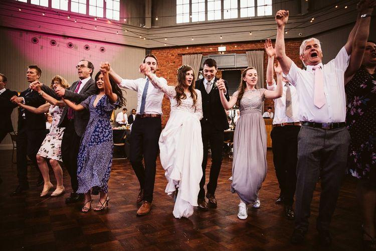 Ceilidh Wedding Dancing