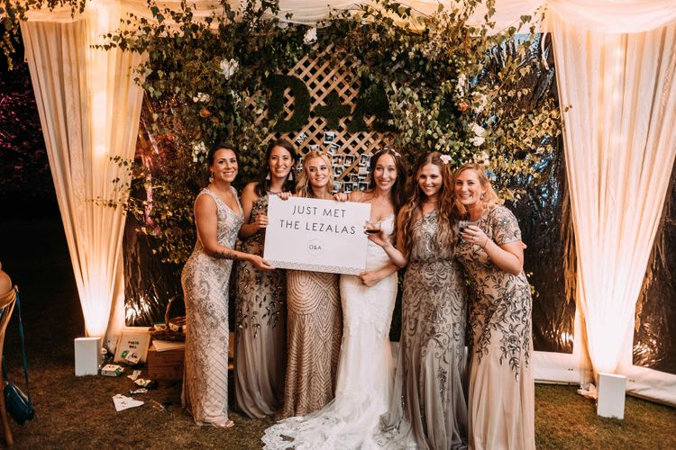 Enchanted Forest Theme | Florals and Foliage Installations by Eden by Claire | Quints of Jersey Stationery | Bride Wears Enzoani | Images by Max Burnett