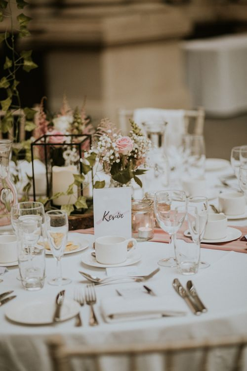 Bristol Harbour Hotel Wedding With White Balloon Decor / Image By Nataly J Photography