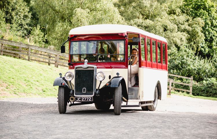 Vintage Wedding Bus | Vintage Fairground at Blists Hill Victorian Town Museum in Ironbridge | Lisa Carpenter Photographer