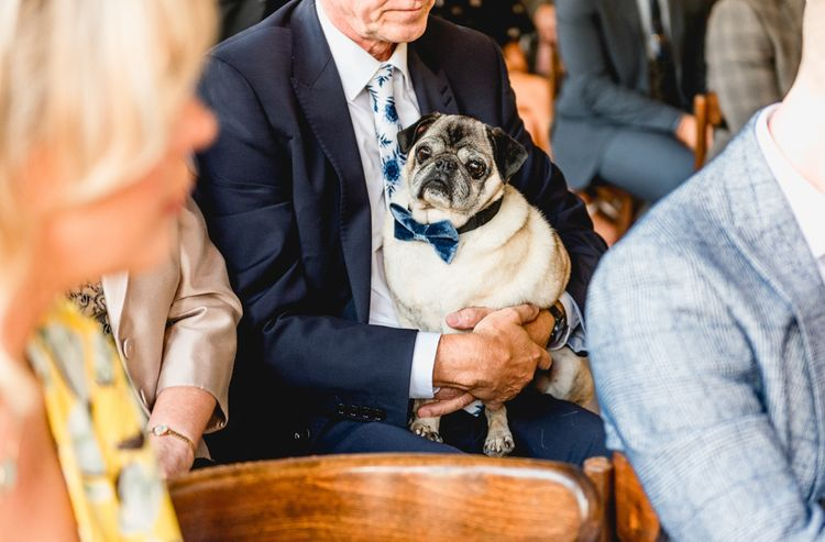 Pug Ring Bearer in Bow Tie | Vintage Fairground at Blists Hill Victorian Town Museum in Ironbridge | Lisa Carpenter Photographer