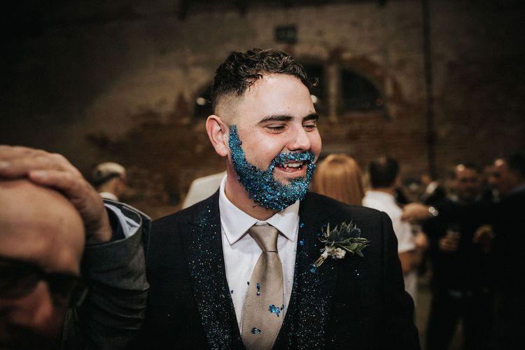 Groom with Glitter Beard