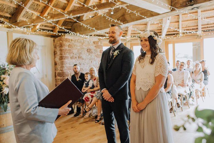 Brickhouse Vineyard wedding ceremony