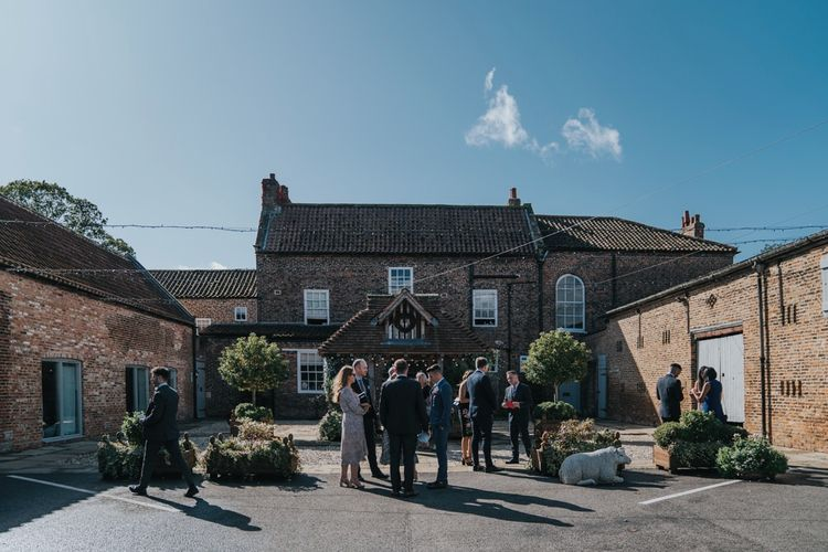 Yorkshire wedding venue Hornington Manor
