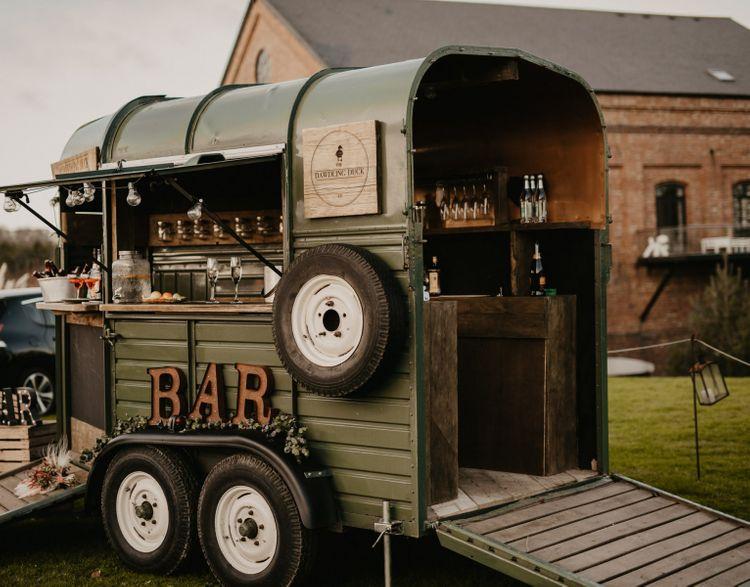 Dawdling Duck Horse Cart Bar