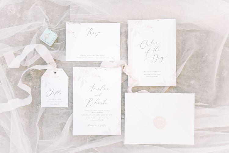 Elegant Wedding Stationery Suite