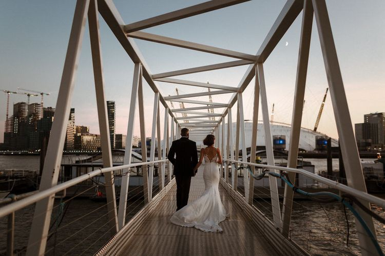 London wedding, Trinity Buoy Wharf. Photography by The Curries.