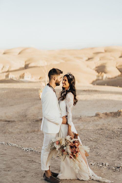 Desert Moroccan elopement wedding