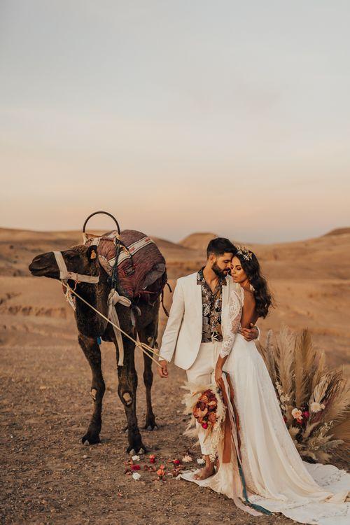 Marrakech elopement wedding