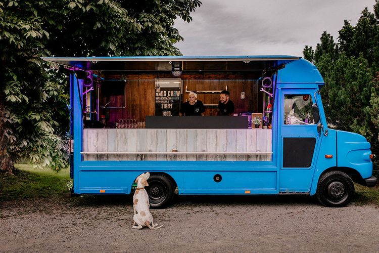 Street food truck wedding menu