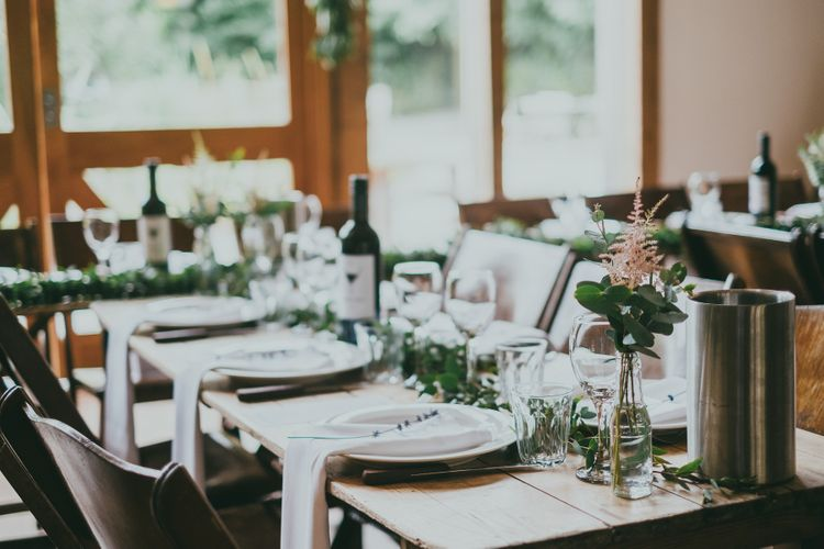 Rustic Place Setting // Image By Ross Talling Photography