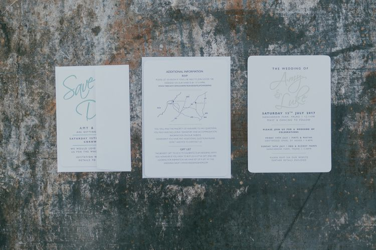 Wedding Stationery // Images From Ross Talling Photography