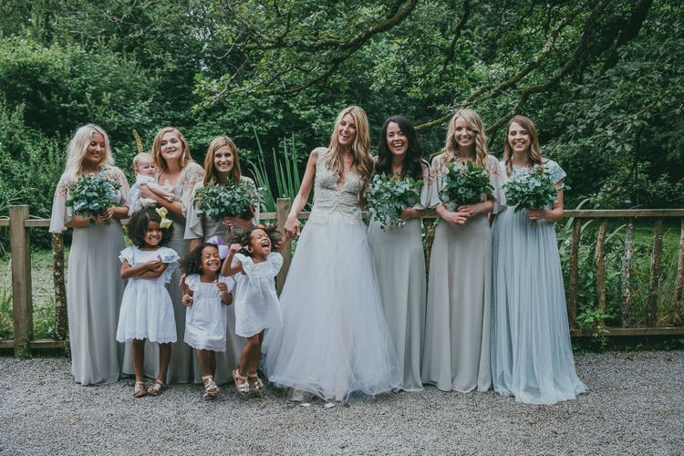 Wedding Party In ASOS // Image By Ross Talling Photography