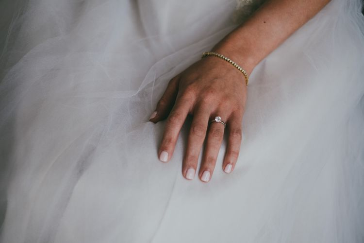 Diamond Engagement Ring // Image By Ross Talling Photography