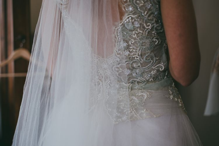 Jane Bourvis Wedding Gown // Image By Ross Talling Photography