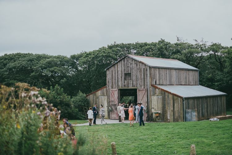 Nancarrow Farm Cornwall Wedding // Image By Ross Talling Photography