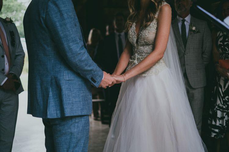 Wedding Ceremony Nancarrow Farm // Image By Ross Talling Photography