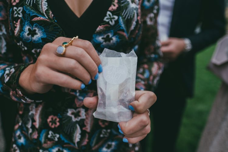 Dried Petal Confetti // Image By Ross Talling Photography