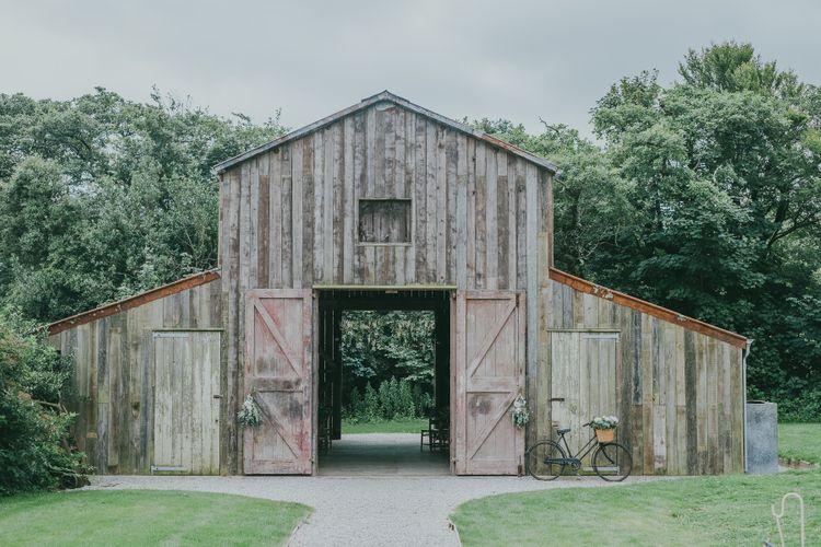 Nancarrow Farm Wedding Ceremony // Image By Ross Talling Photography