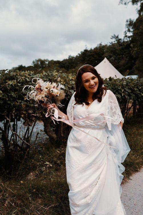 The Modern Love wedding dress