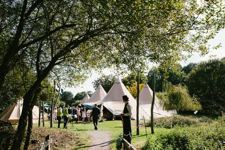 Tipi Wedding At Weald Country Park Essex With Bride In Maggie Sottero Planned By Louise Perry With Images From Jasmine Jade Photography