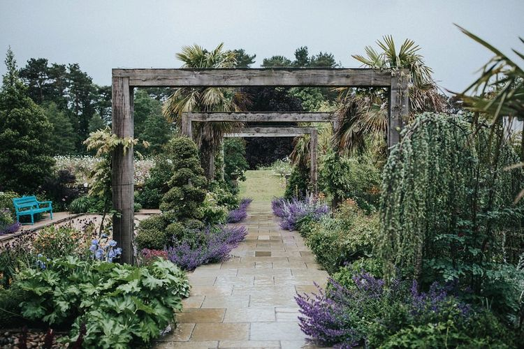 Gardens of Le Petit Chateau Wedding Venue in Northumberland