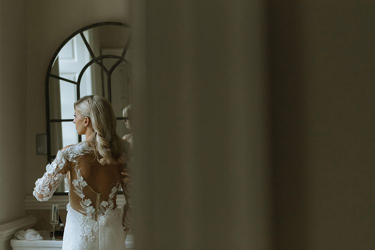 Bridal Preparations in Riki Dalal Dress