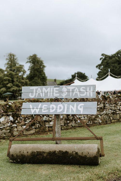 Wedding Welcome DIY Sign
