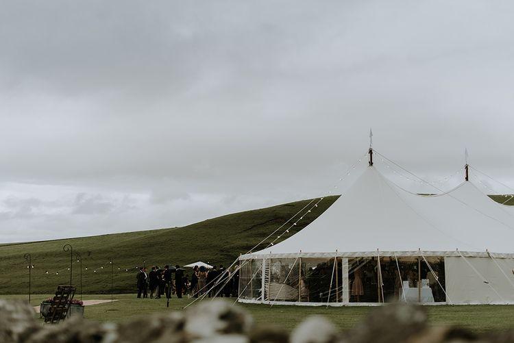 Tent Wedding for Farm Wedding