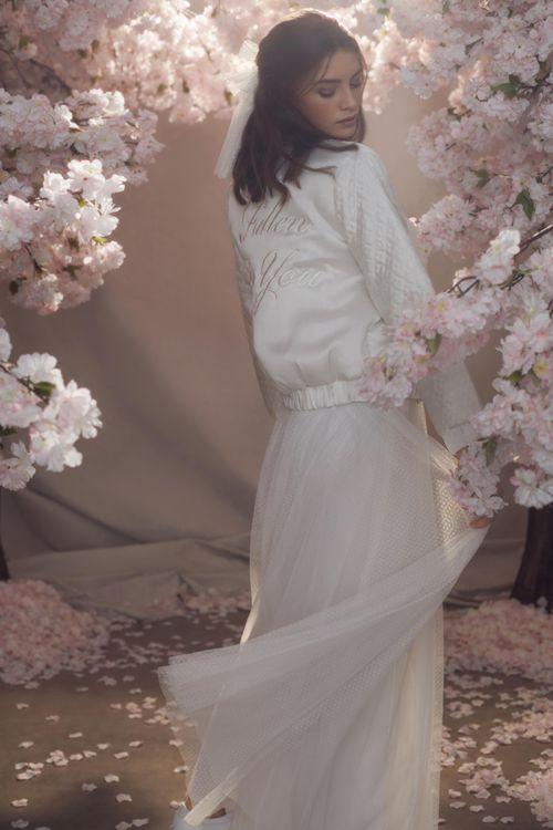 Needle & Thread Tulle Skirt with Satin Wedding Jacket