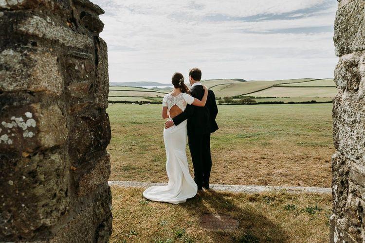 Cornish wedding at Roscarrock Farm