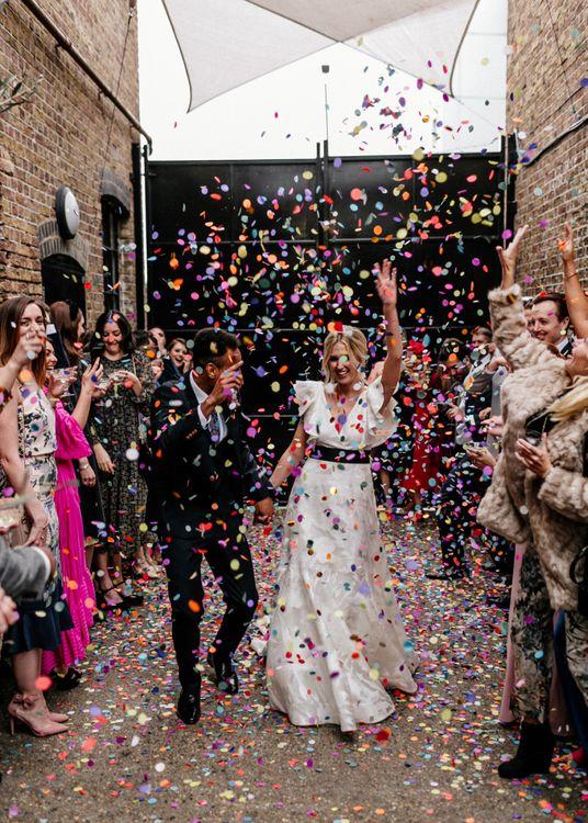 Colourful Confetti Exit