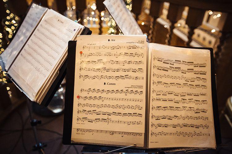 Sheet Music for Sting Trio