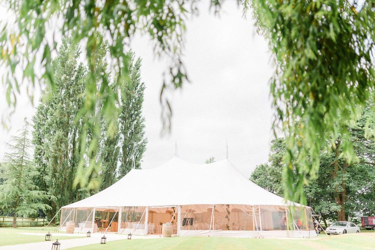PapaKata Sperry Tent Wedding in Brides Family Home