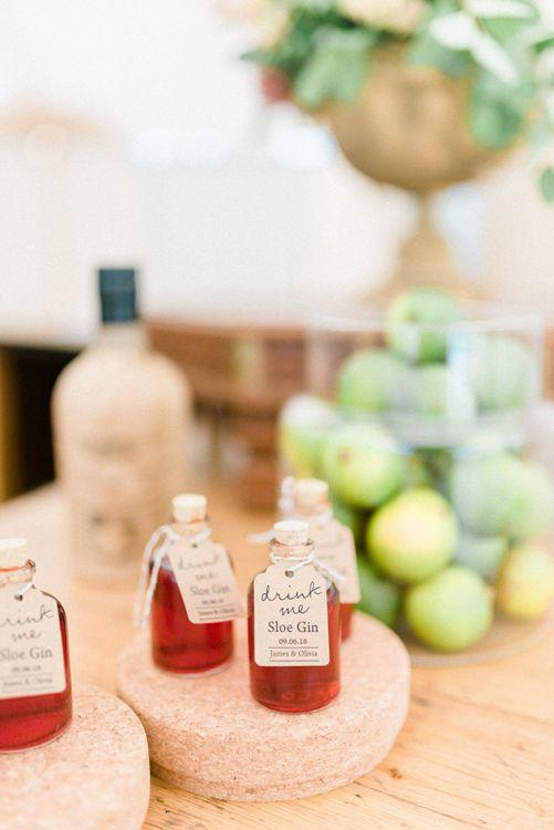 Miniature Slow Gin Wedding Favours