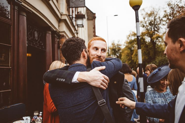 Wedding Guests   Autumn City Wedding at Clissold House,  West Reservoir Centre   A Thing Like That Photography