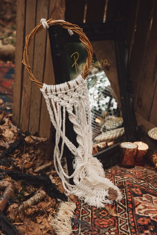 Macrame Wedding Decor