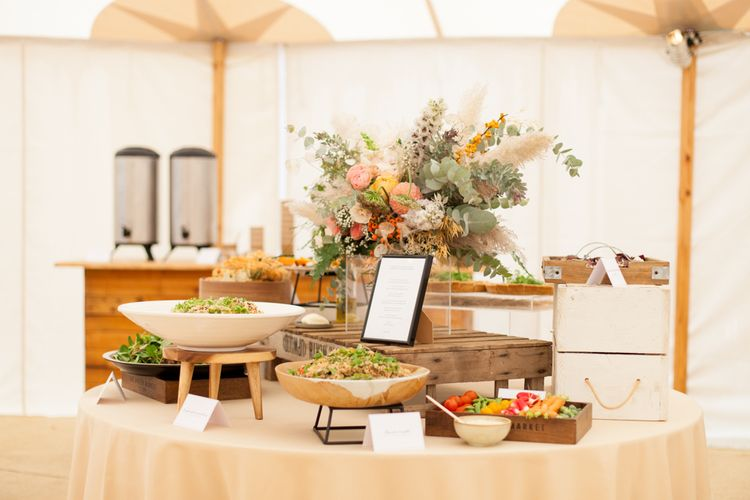 Wedding Food Catering by Goose & Berry