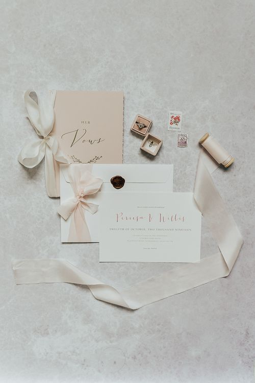 Wedding stationery by Lilac and White