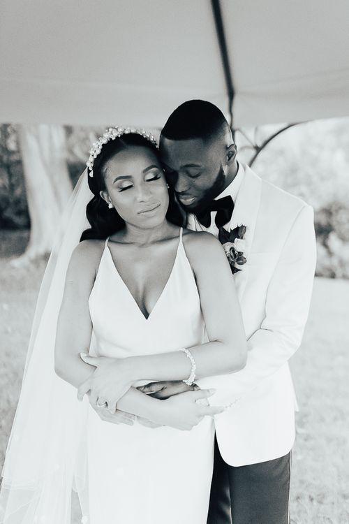Intimate wedding portrait by Rebecca Carpenter Photography
