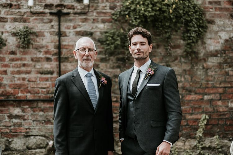 Groom In Next Suit // Image By Jamie Mac Photography