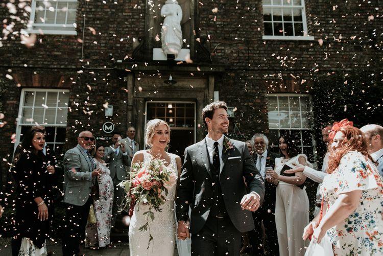 Confetti Shot // Image By Jamie Mac Photography