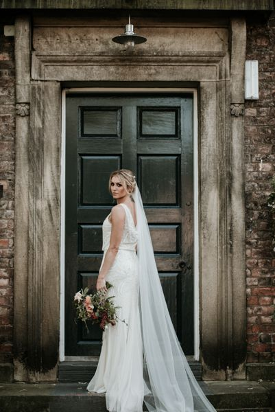 Phase Eight Wedding Dress For York City Centre Wedding // Middletons Hotel York // Image By Jamie Mac Photography