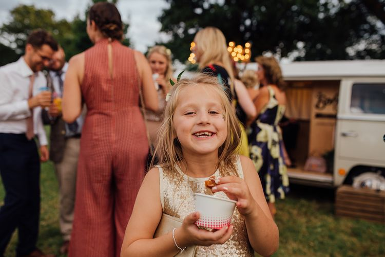 Wedding Guests | Outdoor Wedding Ceremony & Tipi Reception Planned by Benessamy Events | Red on Blonde Photography