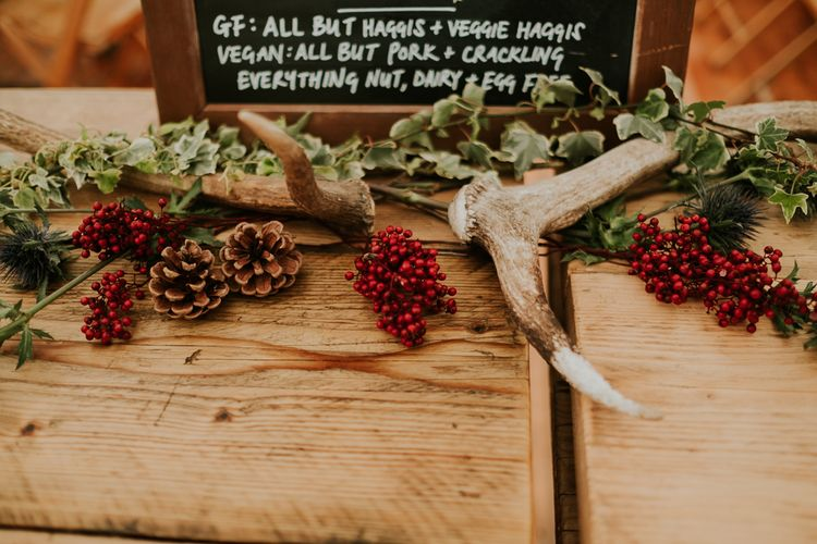 Ravensheugh Log Cabin DIY Wedding With Bride In Vintage Inspired Outfit And Groom In Kilt Virginia's Vintage Hire Photography By Joanna Nicole