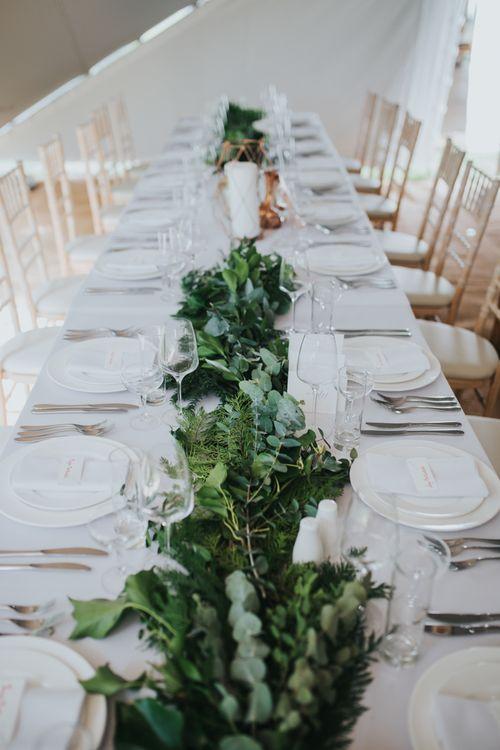 Foliage Filled Wedding In Scotland