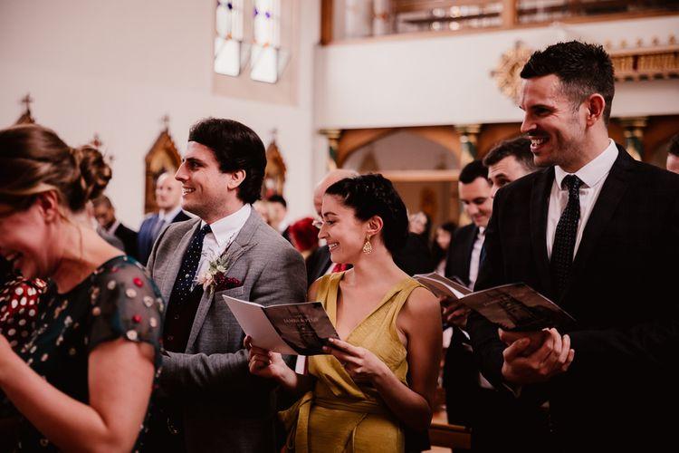 Guests Enjoy Wedding Ceremony