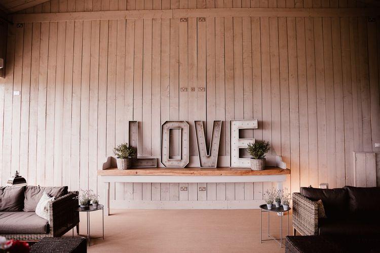 LOVE Wedding Lights Decor